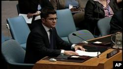 Ο Βούκ Γιέρεμιτς στο Συμβούλιο Ασφάλειας