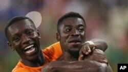 Les Ivoiriens célèbrent leur qualification