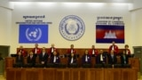 FILE - The courtroom of the Khmer Rouge tribunal during verdict session of the Case 002/01. (Courtesy Image of ECCC)