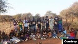 Amalunga ebandla leMthwakazi Republic Party esigabeni se Matabelaland South