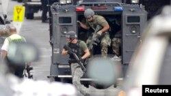 Specijalne snage na mestu napada u Vašingtonu