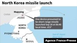 北韓發射場的地圖