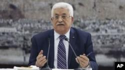 Mahmud Abbas dijo que los palestinos reanudarán de inmediato el intento de obtener mayor reconocimiento en ONU.