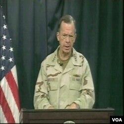 admiral Mike Mullen govori u Bagdadu