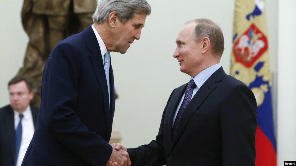 Непостоянный Керри желает приехать в российскую столицу и увидеться сПутиным