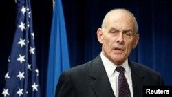 Menteri Keamanan Dalam Negeri Amerika, John Kelly (foto: dok).