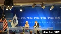 共和黨籍聯邦眾議員、眾議院外交委員會資深成員麥克·麥考爾2019年4月1日在威爾遜國際學者中心參加美國外交政策討論。(蕭洵攝影 )