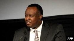Eugène Richard Gasana, représentant permanent du Rwanda à l'ONU du Rwanda à l'Onu limogé à la mi-août, 4 novembre 2013 à New York City.