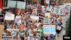 Prosvjedi u Philadelphiji protiv frackinga