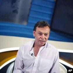 Robert Parsons, a Radio Free Europe veteran, is director general of PIK, Tbilisi, Georgia, August 2011