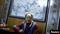2012년 노벨문학상 수상자로 결정된 중국 소설가 모옌. (자료 사진)