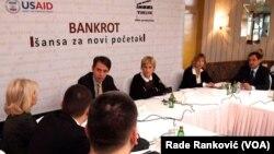"""Okrugli sto """"Bankrot - šansa za novi početak"""""""