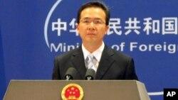 Juru bicara Kementerian Luar Negeri Tiongkok, Hong Lei (6/12) memperingatkan agar kegiatan eksplorasi Vietnam di wilayah sengketa dihentikan (foto: dok).