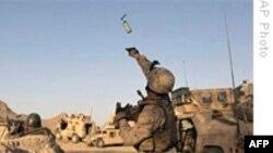 يک سرباز آمريکايی در افغانستان در انفجار بمب کنار جاده ای کشته شد