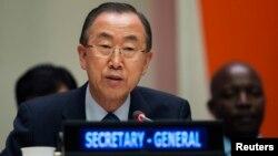 Sekretaris Jenderal PBB Ban Ki-moon mengulangi seruannya bagi pembicaraan damai di Suriah secepatnya (foto: dok).