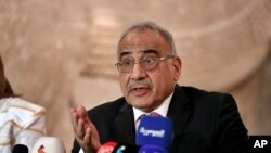 عادل عبدالمهدی نخست وزیر عراق - آرشیو