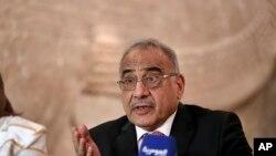 Le premier ministre irakien, sous pression, annonce qu'il à l'intention de démissionner