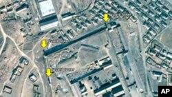 구글 어스로 촬영한 북한 노동 교화소