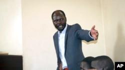 Peter Biar Ajak, mwanaharakati wa kutetea amani na mchumi huko Sudan Kusini