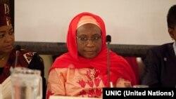 Dr. Ayishaa Abdullaahii, Gamtaa Afrikaatti koomishinarii dhimma siyaasaa