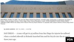 Bản tin trên tờ San Diego Union Tribute. (Hình: Trích xuất từ sandiegouniontribune.com)