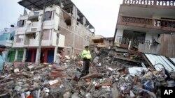 La embajada de Estados Unidos habilitó varios teléfonos para casos de emergencia después del terremoto.