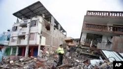 خرابی های ناشی از زمین لرزه در اکوادور