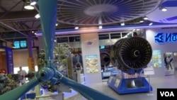 Motor Sich, perusahaan asal Ukraina, memamerkan mesin-mesinnya di Moscow Air Show 2013