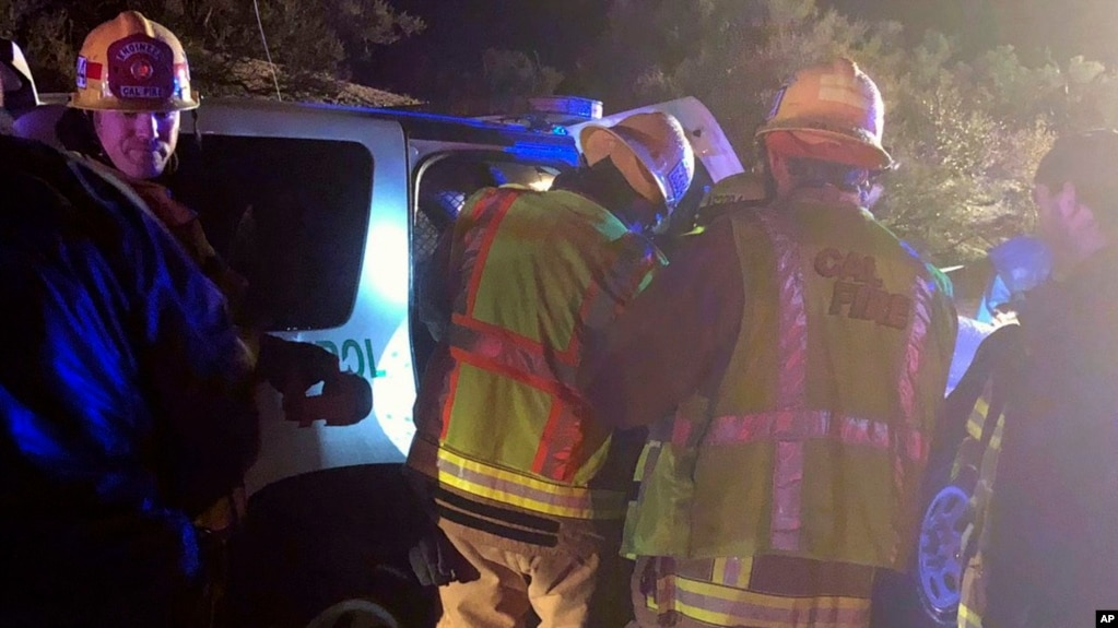 Three Dead, 8 Injured After Fleeing Truck Rollover in California