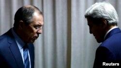 Сергій Лавров і Джон Керрі (архівне фото)