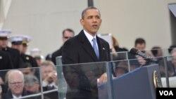 美國總統奧巴馬就職演說