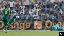 Mame Biram Diouf inscrit un but contre le Ghana