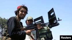 На фото: бійці Талібану