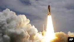 美國亞特蘭蒂斯號穿梭機星期五發射升空