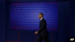 Перші теледебати Обами та Ромні