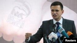Ilya Yashin, Ketua Partai Kebebasan Rakyat (Parnas) yang beroposisi di Rusia (foto: dok).