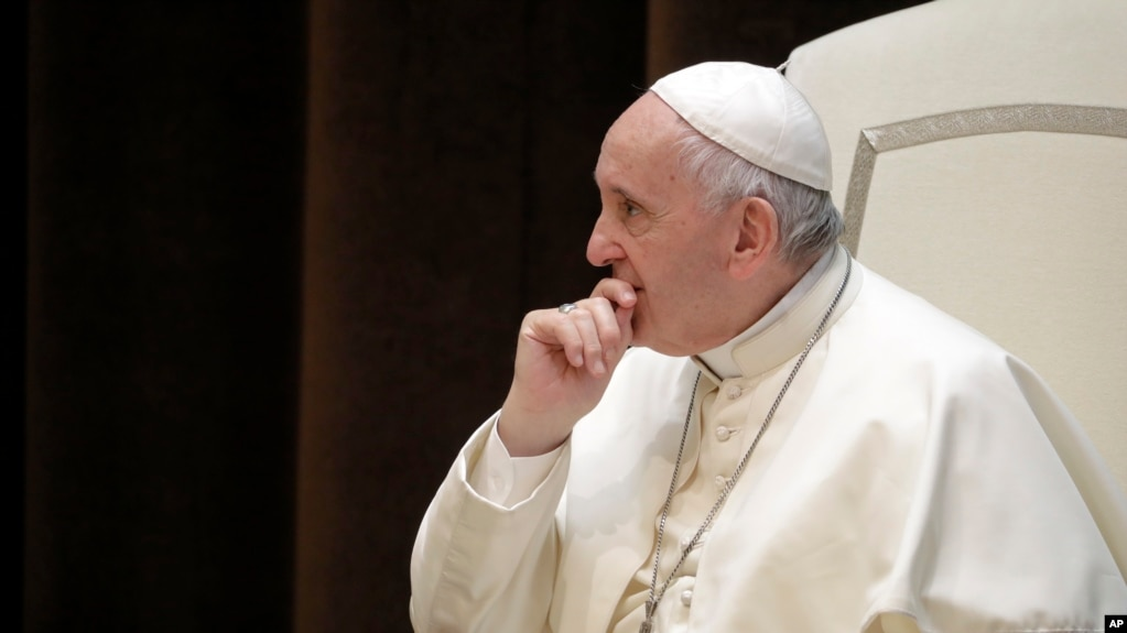 Pope Changes Church Teachings to Oppose Death Penalty