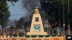 Les forces françaises Sangaris dans Bangui, mai 2014
