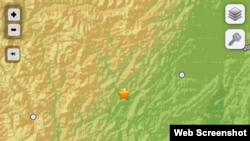 美国地质勘探局网站相关资料截图