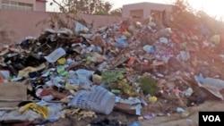 Lixo acumula-se em Benguela