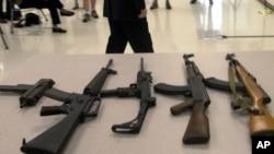 Образцы штурмового оружия