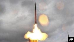 末段高空区域防御系统导弹