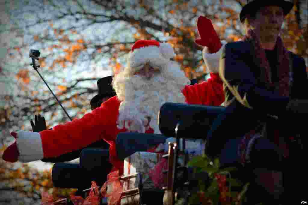 Санта Клаус приехал