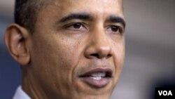 Presiden Barack Obama menyatakan optimistis ekonomi Amerika akan lebih baik di tahun 2012 (foto: dok).