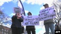 Pristalice anti-islamskih grupa iz svih delova Evrope okupile su se 31. marta na mitingu u Danskoj.