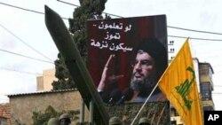 ذخیره گاه سلاح گروه حزب الله در قریه جات لبنان
