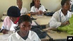 Sala de aula, Namibe, Angola