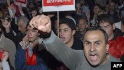 Протесты в Армении (архивное фото)