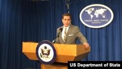 Представитель Госдепартамента США Джон Кирби