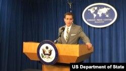 Juru bicara Departemen Luar Negeri Amerika, John Kirby (Foto: dok)